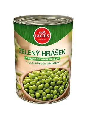 Hrášek zelený- sterilovaný 420 g