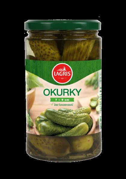 Okurky 7-9 cm 660g