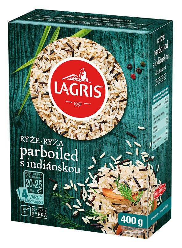 Rýže parboiled s indiánskou varné sáčky 400 g