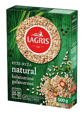 Rýže natural kulatozrnná 500g