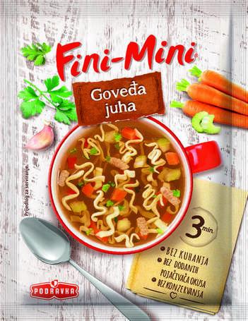 Hovězí polévka 18 g
