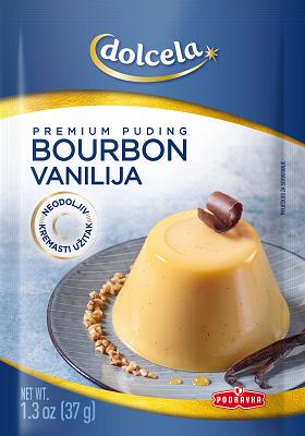 Premium puding spříchutí bourbon vanilka vprášku 37 g