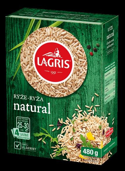 Rýže natural varné sáčky 480 g