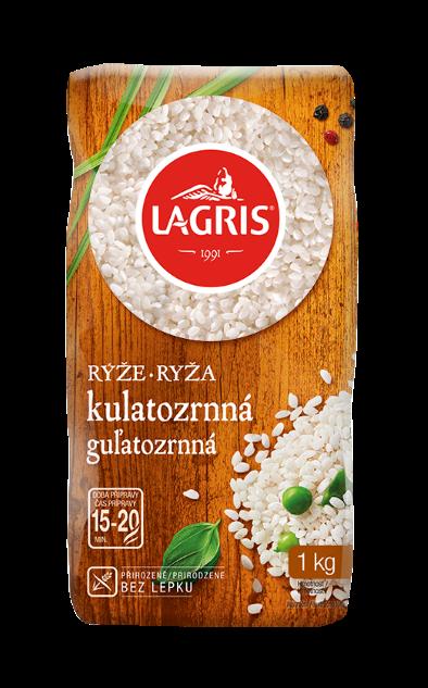 Rýže kulatozrnná 1 kg