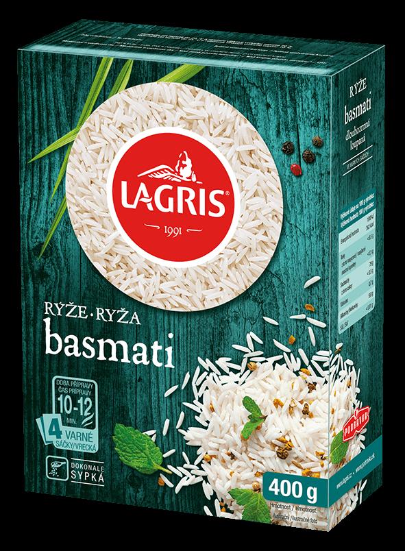 Rýže basmati varné sáčky 400 g