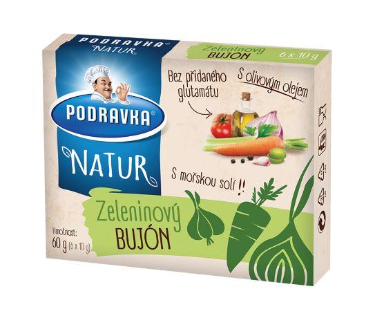 Natur zeleninový bujón kostky 60 g