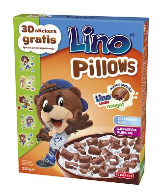 Cereální polštářky kakaové 250 g + nálepka
