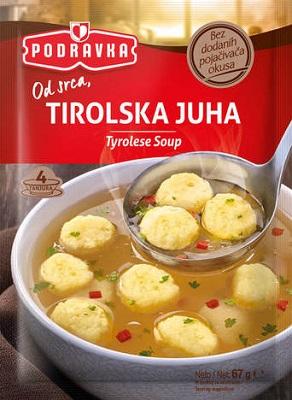 Tyrolská polévka s knedlíčky 67g