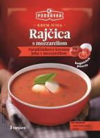 Krémová rajčatová polévka s mozzarellou 80 g