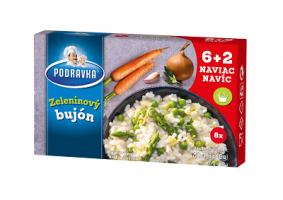 Zeleninový bujón kostky 60+20 g