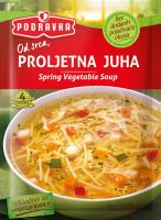 Jarní zeleninová polévka s těstovinami 50 g