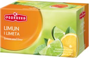 Čaj citrón a limetka 50 g