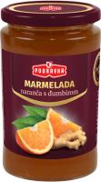 Pomerančová marmeláda se zázvorem 440 g