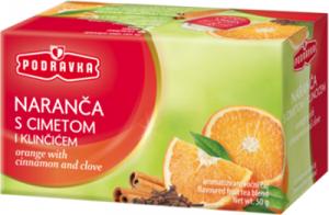 Čaj pomeranč se skořicí a hřebíčkem 50 g